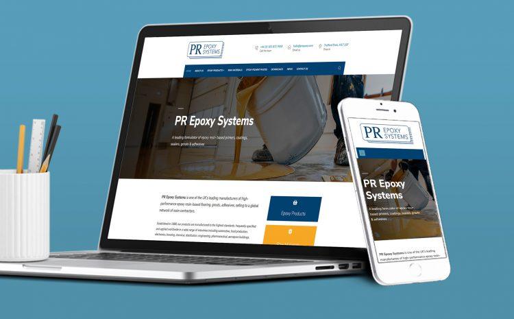 PR Epoxy Launches Brand New Website