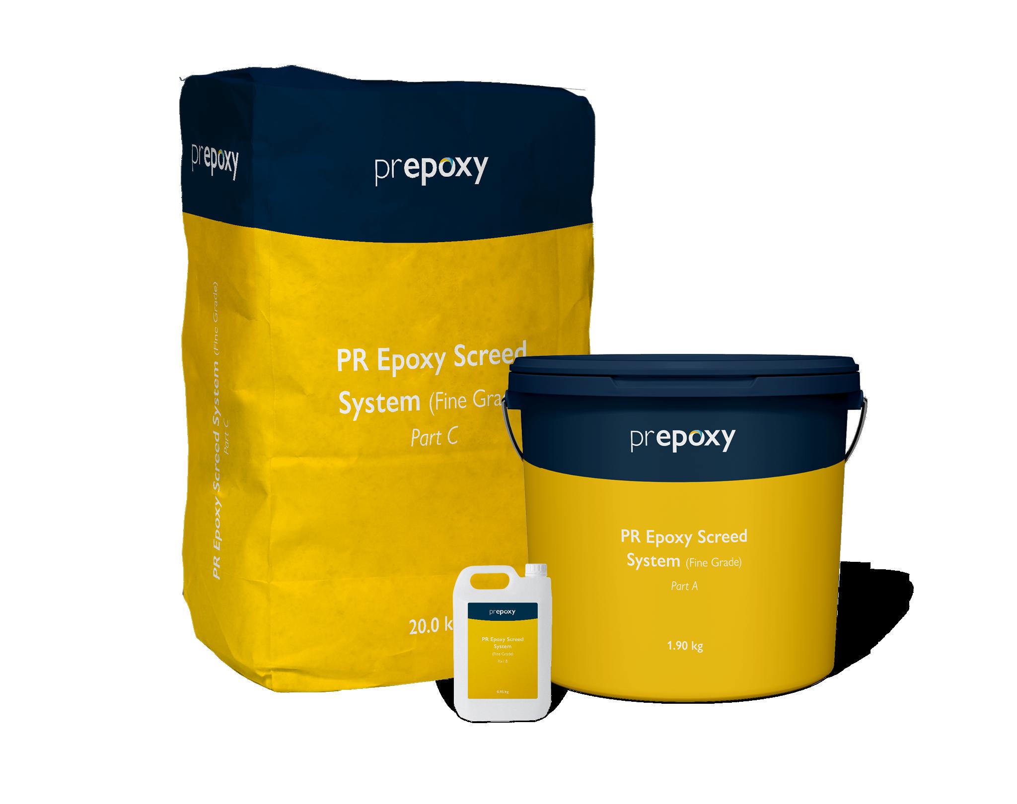 PR Epoxy Screed System (Fine Grade)