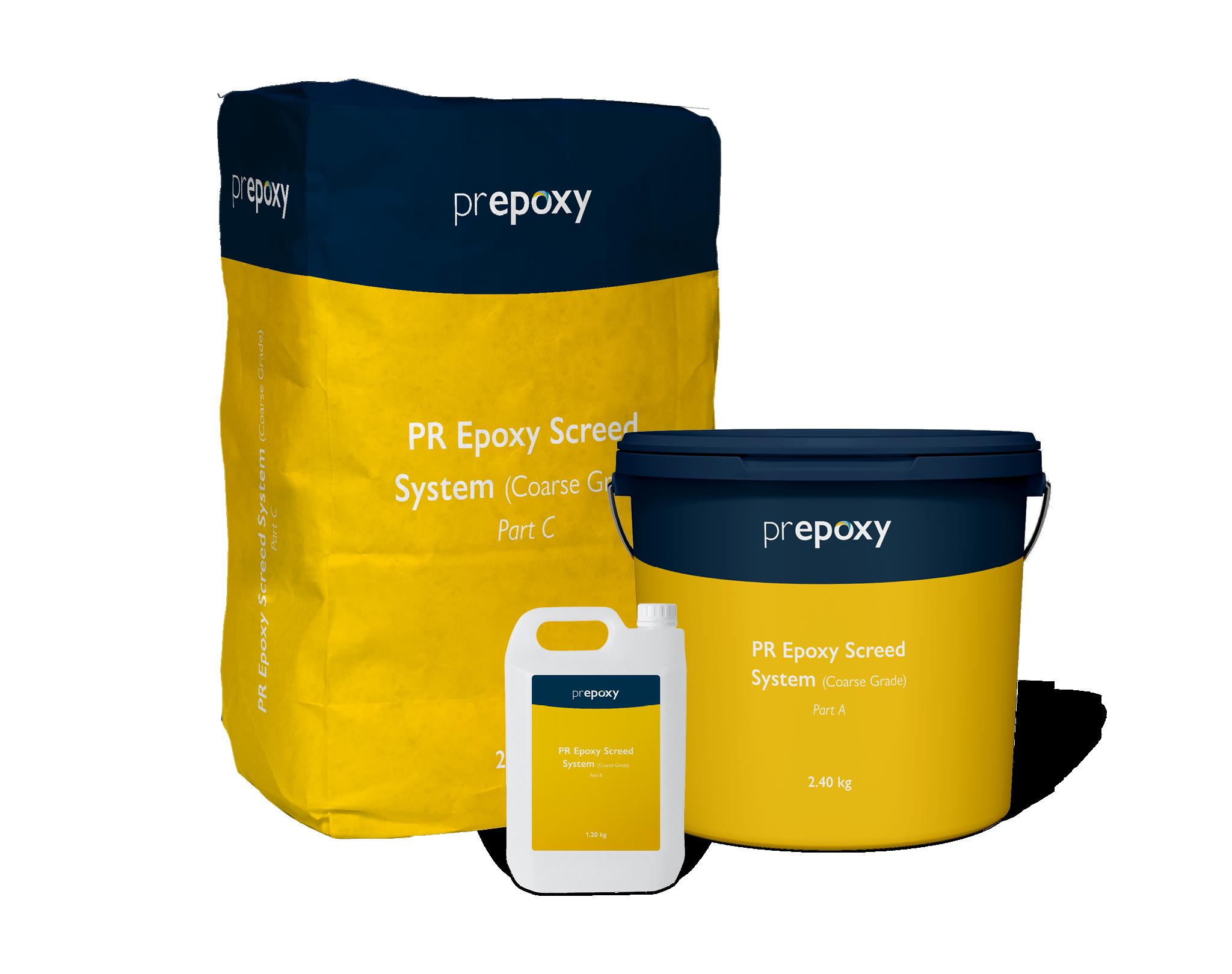 PR Epoxy Screed System (Coarse Grade)