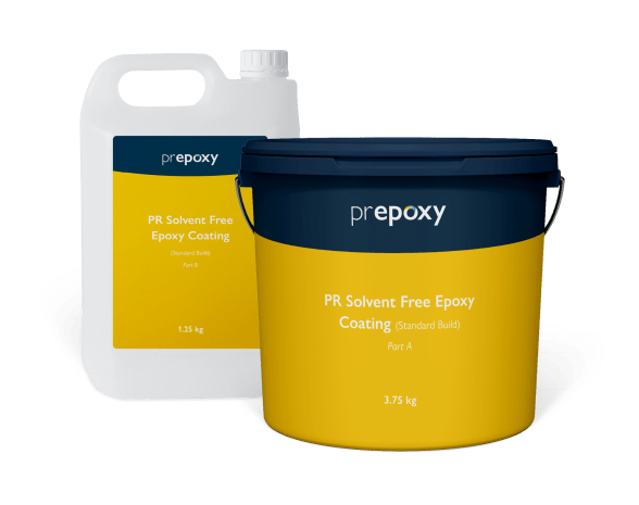 PR Solvent Free Epoxy Coating (Standard Build)