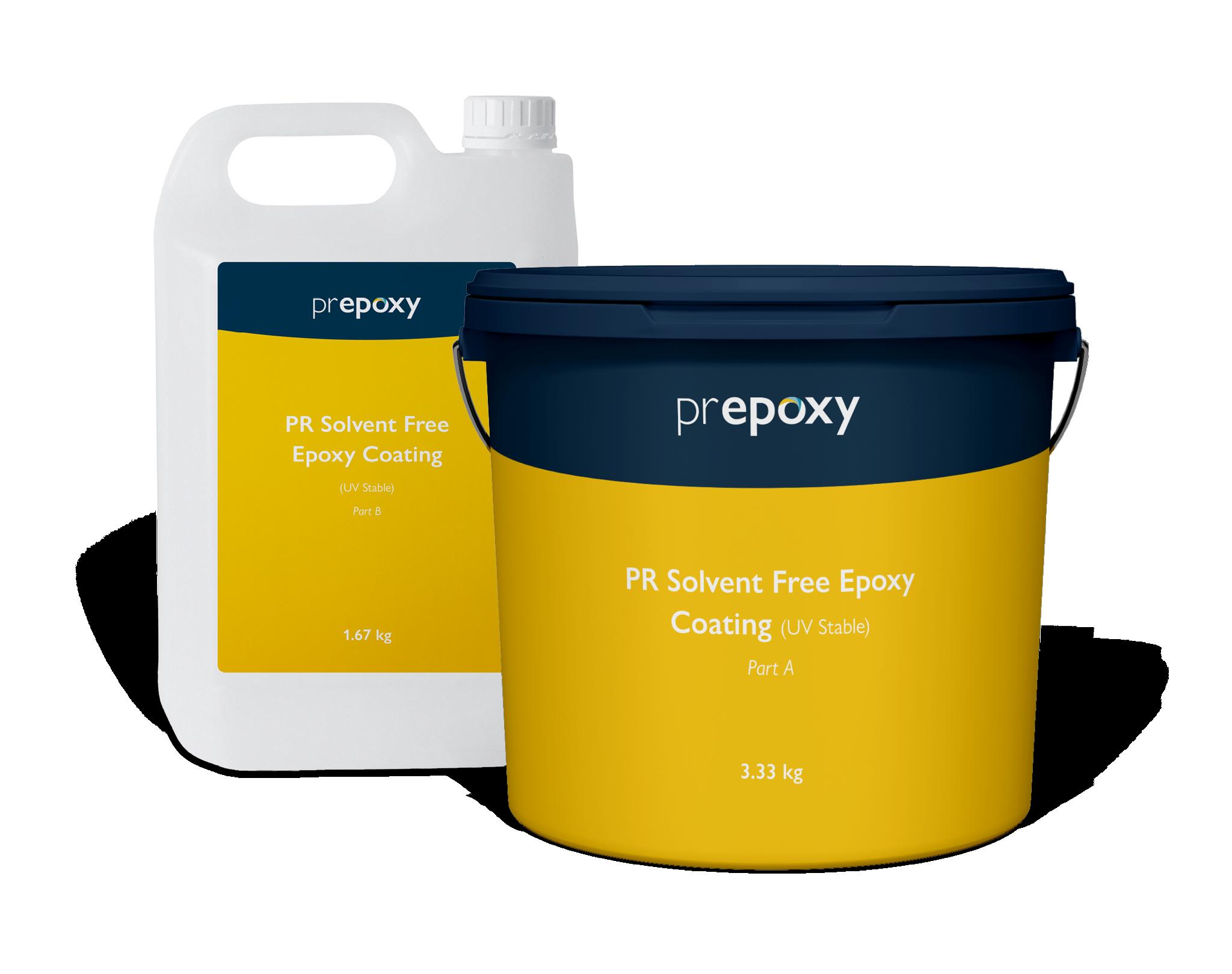 PR Solvent Free Epoxy Coating (UV Stable)