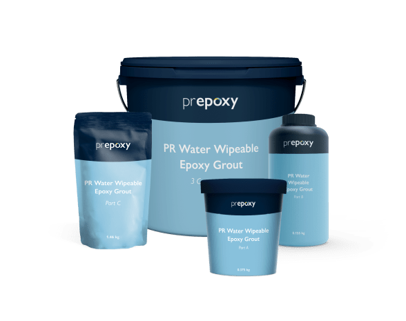 PR Water Wipeable Epoxy Grout