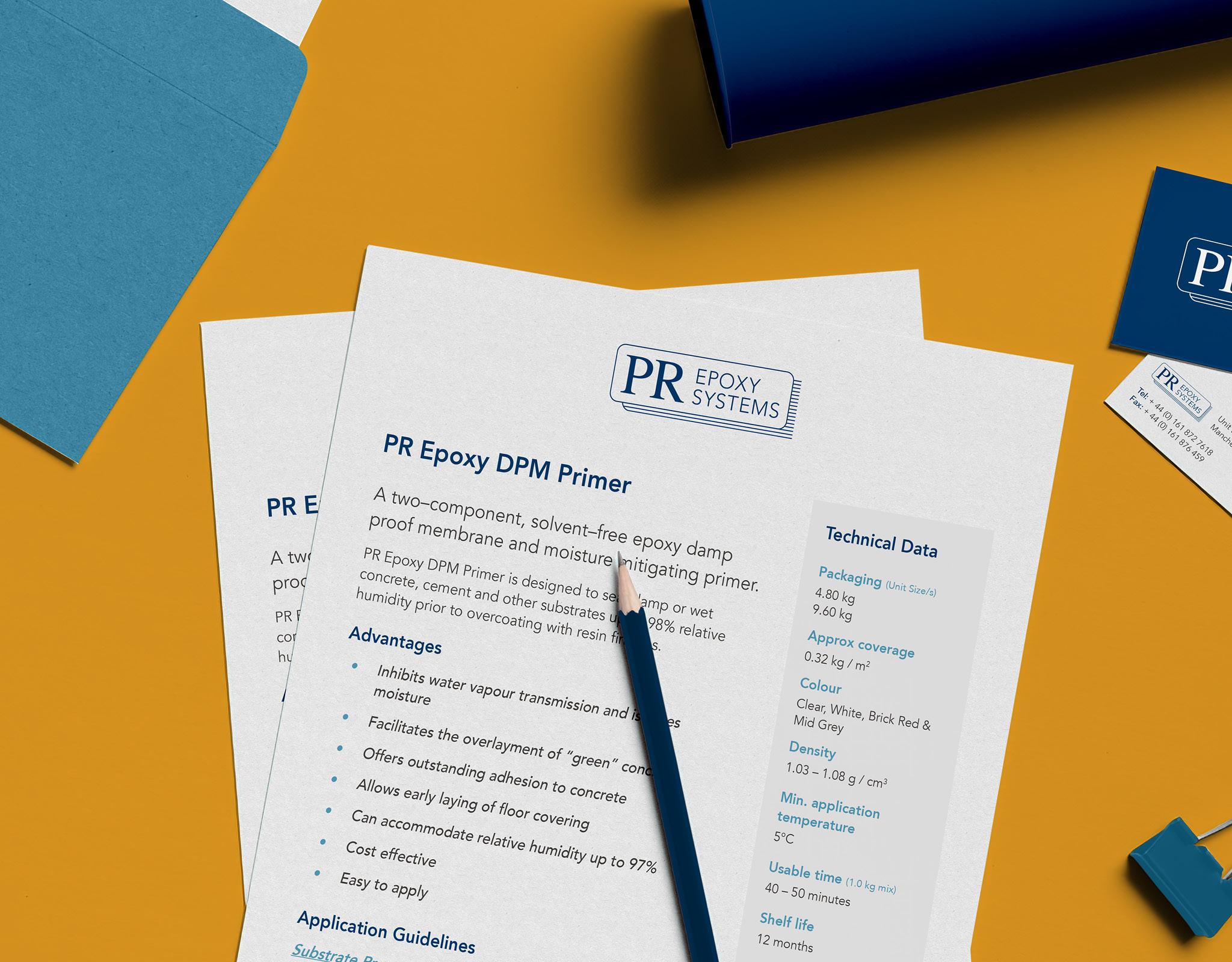 PR Epoxy - New Look Technical Data for New Look Website