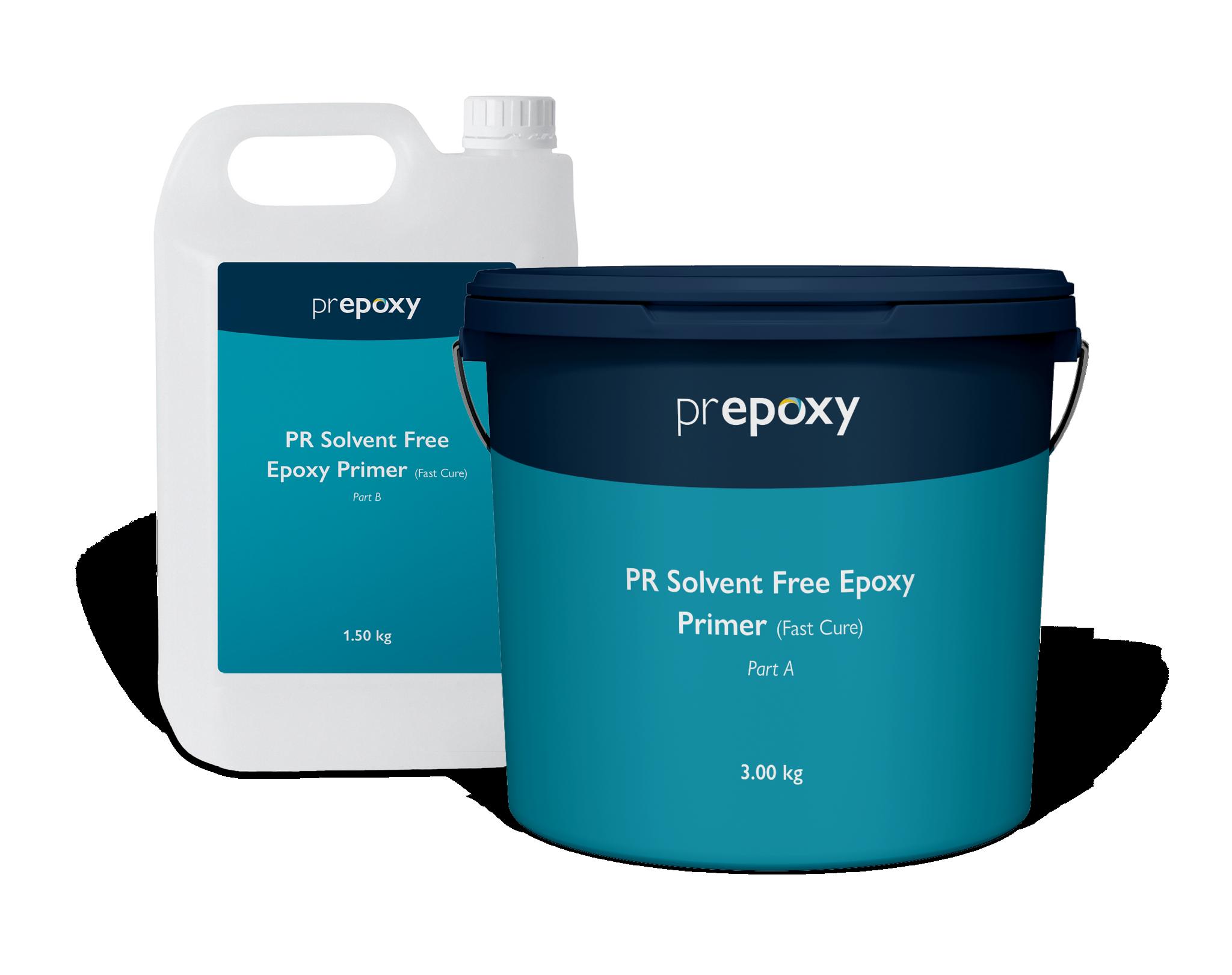 PR Solvent Free Epoxy Primer (Fast Cure)