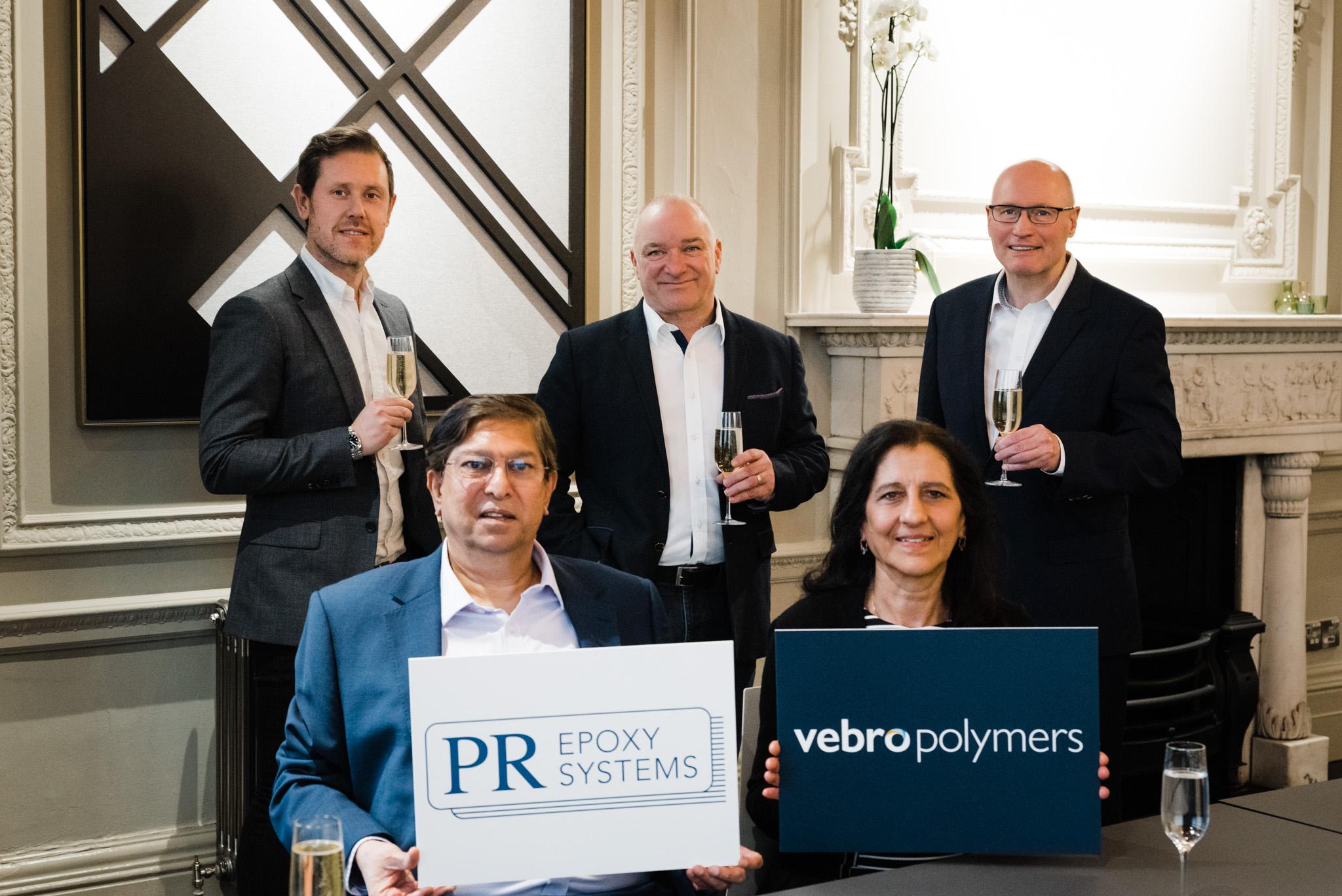 Vebro Polymers acquires PR Epoxy Systems